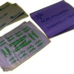 Separadores de papel impresos